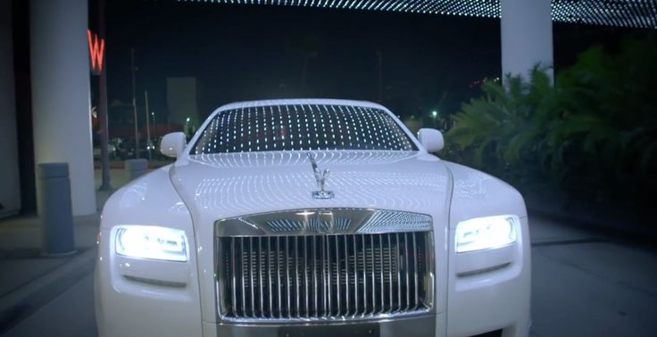 Rolls-Royce Ghost car in LONELY TONIGHT by Blake Shelton (2014