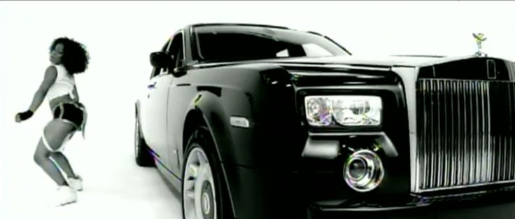 Rolls-Royce Phantom car in DROP IT LIKE IT'S HOT by Snoop Dogg (2004) Official Music Video Product Placement