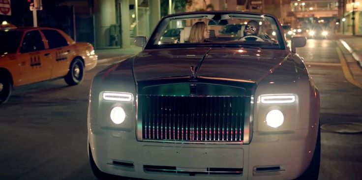 Rolls-Royce Phantom Drophead Coupé car driven by Rick Ross in I'M ON ONE by DJ Khaled (2011) Official Music Video Product Placement