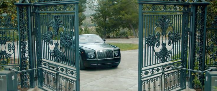 Rolls-Royce Phantom Drophead Coupé car in YOU CHANGED ME by Jamie Foxx (2015) Official Music Video Product Placement