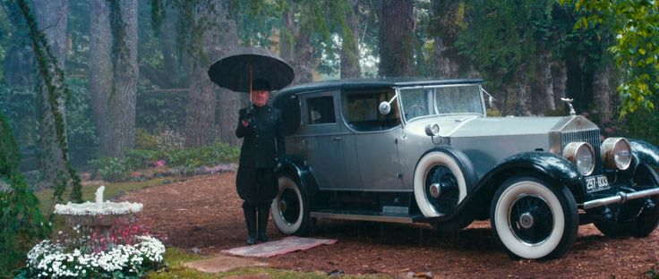 Rolls-Royce Phantom I (1927) car - The Great Gatsby (2013) Movie Product Placement