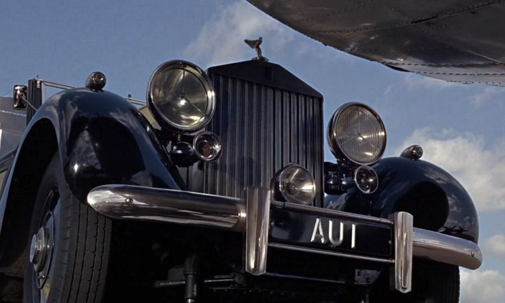 Rolls-Royce Phantom III car in GOLDFINGER (1964) Movie Product Placement