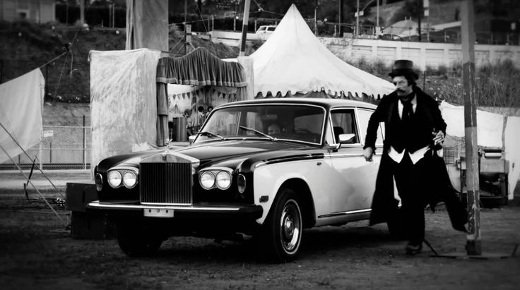 Rolls-Royce Silver Shadow II car in MAGIC by Coldplay (2014) Official Music Video Product Placement