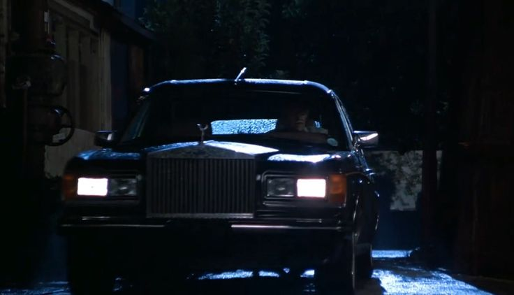 Rolls-Royce Silver Spur II Touring Limousine in INDECENT PROPOSAL (1993) Movie Product Placement