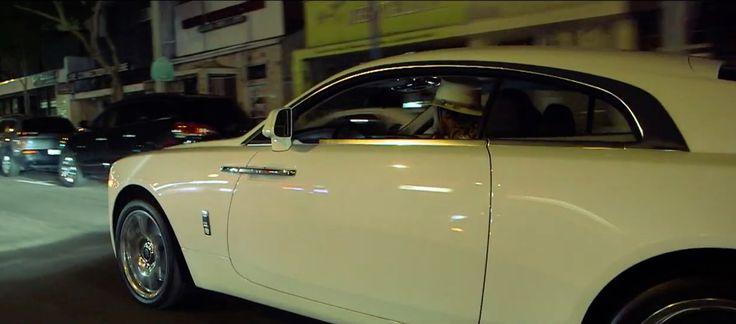 Rolls-Royce Wraith car in BLOW A BAG by Future (2015) Official Music Video Product Placement