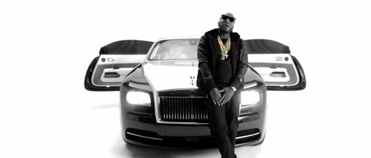 Rolls-Royce Wraith in BLACK ESKIMO by Young Jeezy (2014) Official Music Video Product Placement