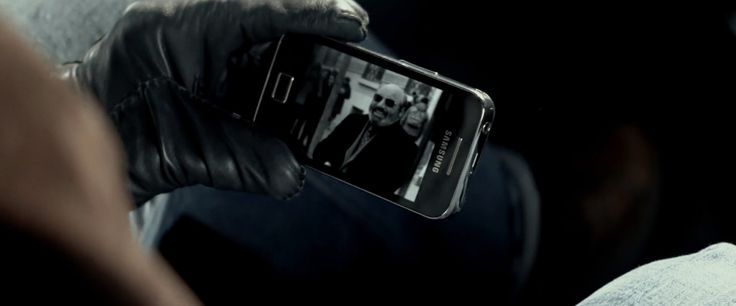 Samsung Galaxy Ace 2 mobile phone in 3 DAYS TO KILL (2014) - Movie Product Placement
