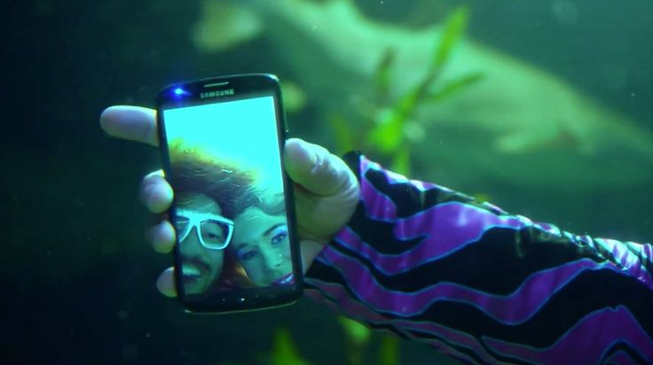 Samsung Galaxy Active S4 used by Red Foo in LET'S GET RIDICULOUS (2013) Official Music Video Product Placement