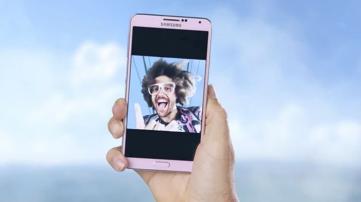 Samsung Galaxy Note 3 used by Redfoo in LET'S GET RIDICULOUS (2013) Music Video Product Placement