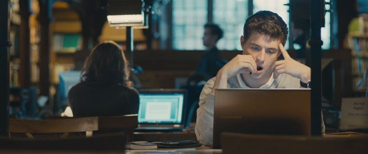 Samsung laptop used by Max Irons in THE RIOT CLUB (2014) - Movie Product Placement