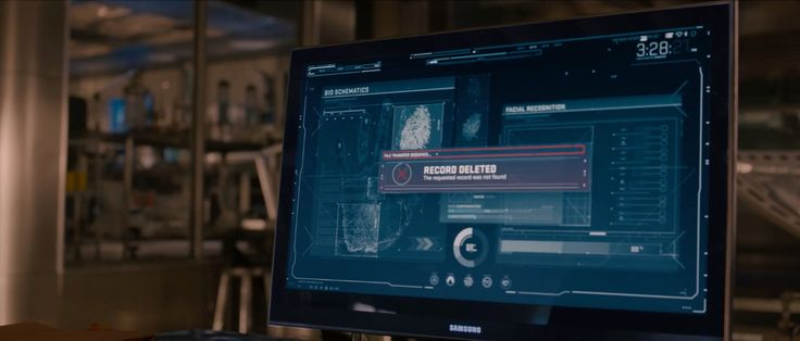 Samsung Monitor - AVENGERS: AGE OF ULTRON (2015) Movie Product Placement