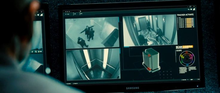 Samsung monitor in TAKEN 3 (2014) Movie Product Placement