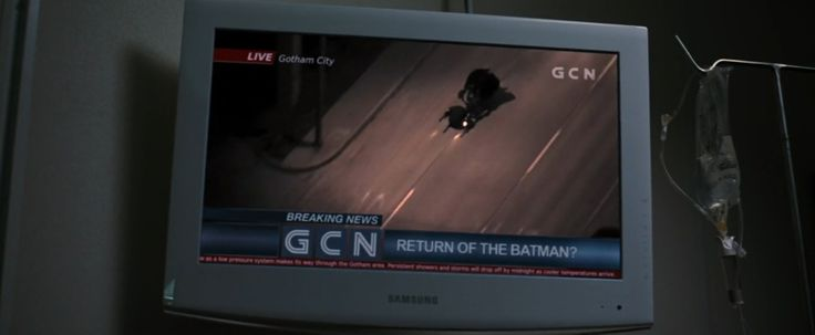Samsung TV - THE DARK KNIGHT RISES (2012) Movie Product Placement