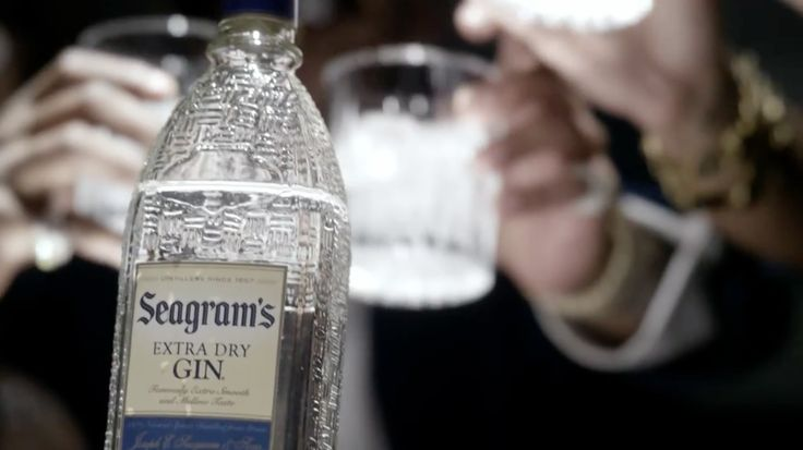 Seagram's gin in HOW I FEEL by Flo Rida (2013) Official Music Video Product Placement