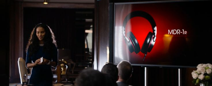 Sony MDR-1r headphones in ABOUT LAST NIGHT (2014) Movie Product Placement