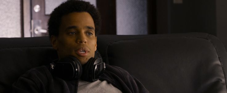 Sony PlayStation 3 Pulse headset worn by Michael Ealy in ABOUT LAST NIGHT (2014) Movie Product Placement