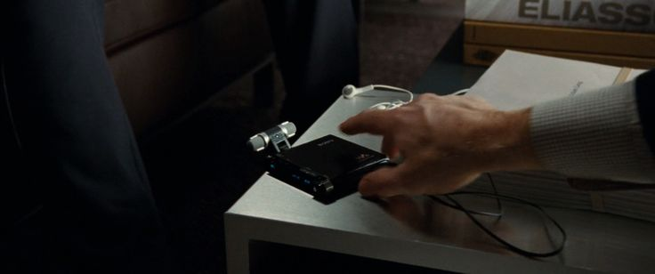 Sony voice recorder in THE GHOST WRITER (2010) Movie Product Placement
