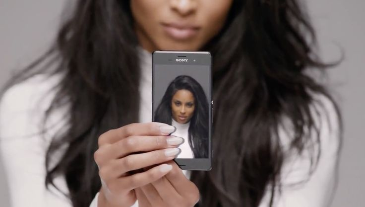 Sony Xperia Z3 mobile phone in I BET by Ciara (2015) - Official Music Video Product Placement