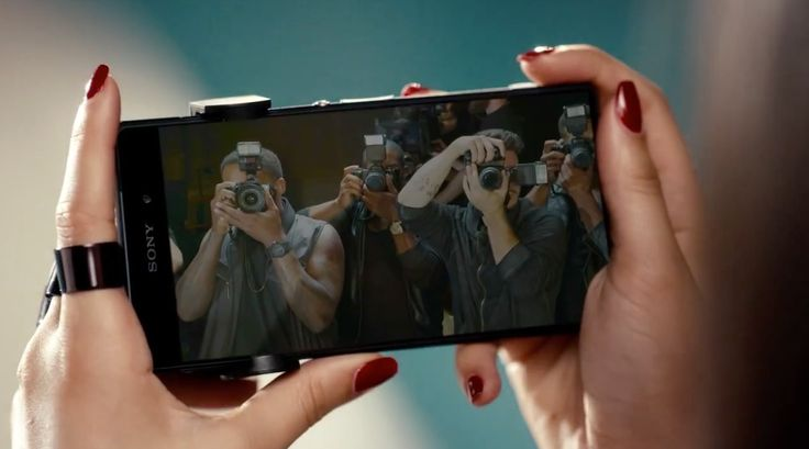 Sony Xperia Z2 mobile phone in BO$$ by Fifth Harmony (2014) Official Music Video Product Placement