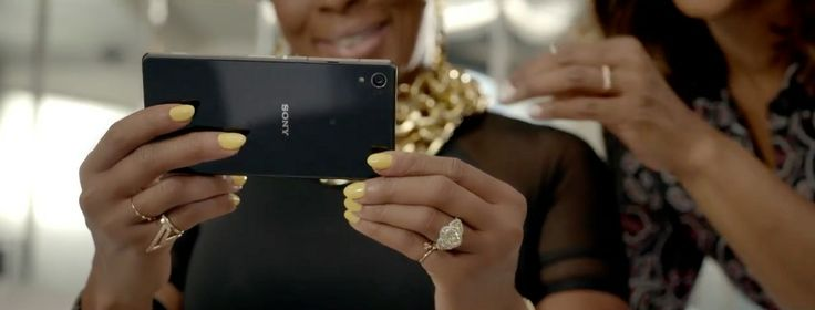 Sony XPERIA Z2 mobile phone in THINK LIKE A MAN TOO (2014 ...
