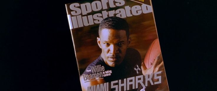 Sports Illustrated magazine in ANY GIVEN SUNDAY (1999) - Movie Product Placement