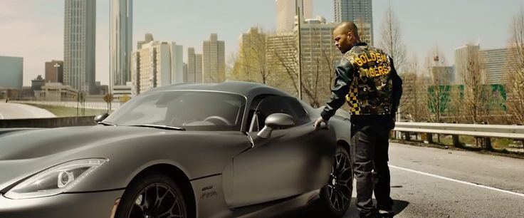 Dodge SRT Viper GTS car in OFF-SET by T.I. & Young Thug (2015) Official Music Video Product Placement