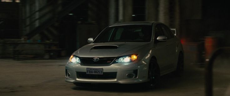 Subaru Impreza WRX STi in FAST FIVE (2011) Movie Product Placement