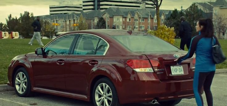 Subaru Legacy car driven by Inga Cadranel in ORPHAN BLACK: MINGLING ITS OWN NATURE WITH IT (2014) - TV Show Product Placement