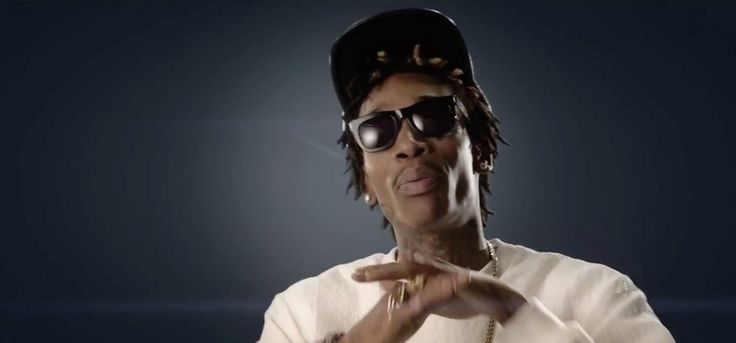 Super Ciccio Francis sunglasses worn by Wiz Khalifa in FEELIN' MYSELF by will.i.am (2013) Official Music Video Product Placement