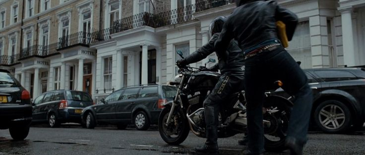 Suzuki GSX 1400 motorcycle in THE GHOST WRITER (2010) Movie Product Placement