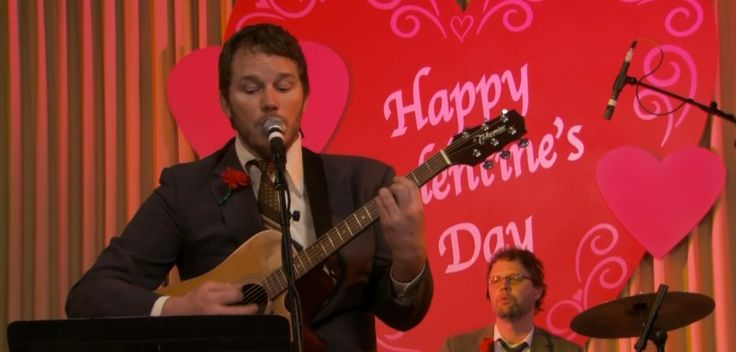 Takamine guitar - PARKS AND RECREATION TV Show Product Placement