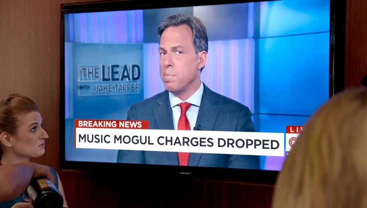 The Lead with Jake Tapper TV show and CNN TV channel in EMPIRE: BE TRUE (2015) TV Show Product Placement
