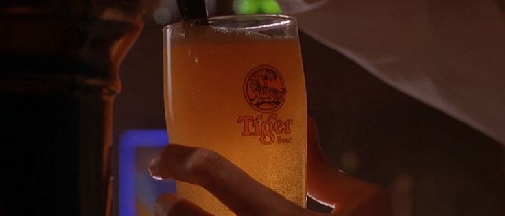 Tiger beer in THE TRANSPORTER (2002) - Movie Product Placement