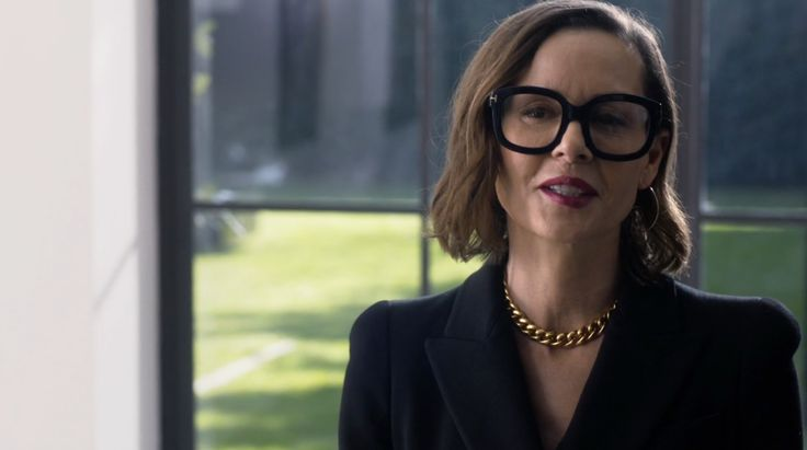 Tom Ford glasses worn by Embeth Davidtz in RAY DONOVAN: GIRL WITH GUITAR (2016) - TV Show Product Placement