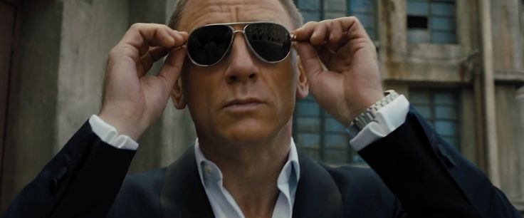 Tom Ford Marko FT0144 sunglasses worn by Daniel Craig in SKYFALL (2012) Movie Product Placement