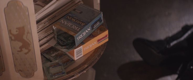 Trojan condoms in THAT AWKWARD MOMENT (2014) - Movie Product Placement