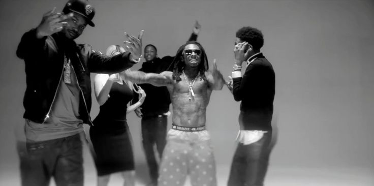 Trukfit underwear worn by Lil Wayne in MY NIGGA (REMIX) by YG (2014) - Official Music Video Product Placement