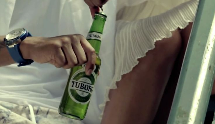 Tuborg beer in SO GOOD by B.o.B (2012) - Official Music Video Product Placement