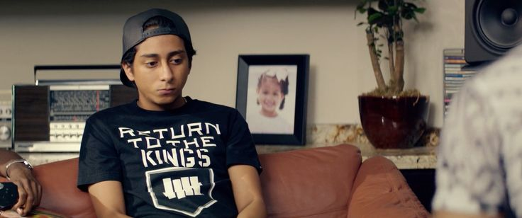 Undefeated x Los Angeles Kings t-shirt worn by Tony Revolori in DOPE (2015) Movie Product Placement