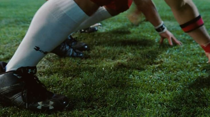 Under Armour american football socks and shoes in THE BLIND SIDE (2009) Movie