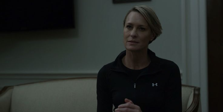 Under Armour jacket worn by Robin Wright in HOUSE OF CARDS: CHAPTER 47 (2016) TV Show Product Placement