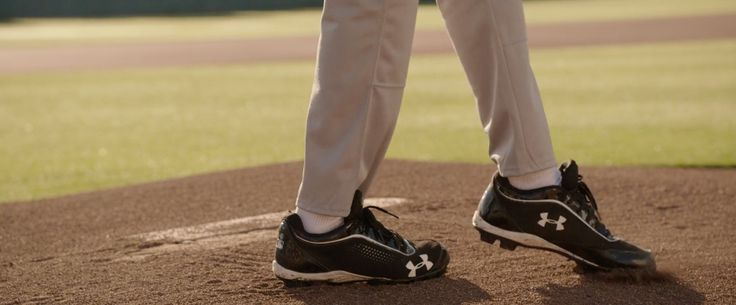 Under Armour Leadoff IV Baseball Cleats in MILLION DOLLAR ARM (2014) Movie Product Placement