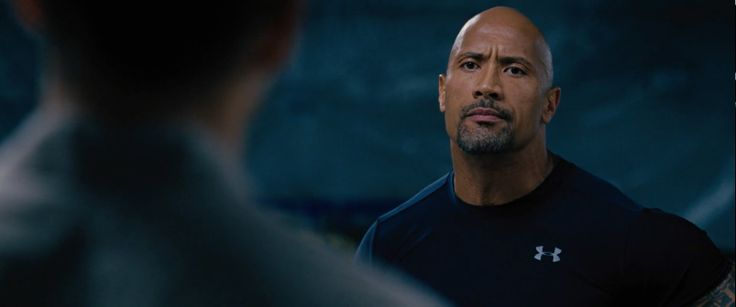 Under Armour t-shirt worn by Dwayne 'The Rock' Johnson in FAST & FURIOUS 6 (2013) Movie Product Placement