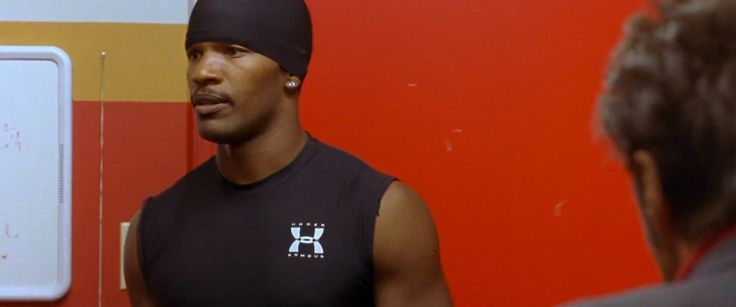 Under Armour tank top worn by Jamie Foxx in ANY GIVEN SUNDAY (1999) Movie Product Placement