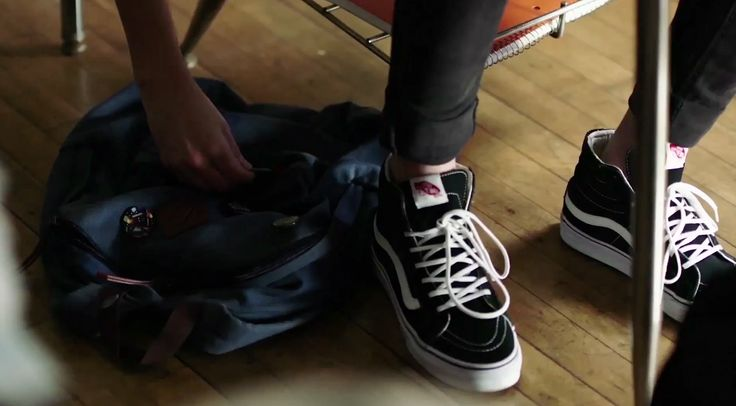 Vans shoes in BORED TO DEATH (STEVE AOKI REMIX) by Blink 182 (2016) Official Music Video Product Placement