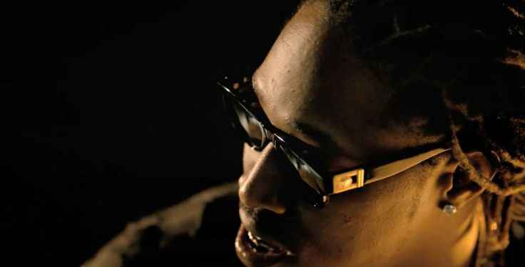 Versace 465 sunglasses worn by Future in I WON (2014 ...