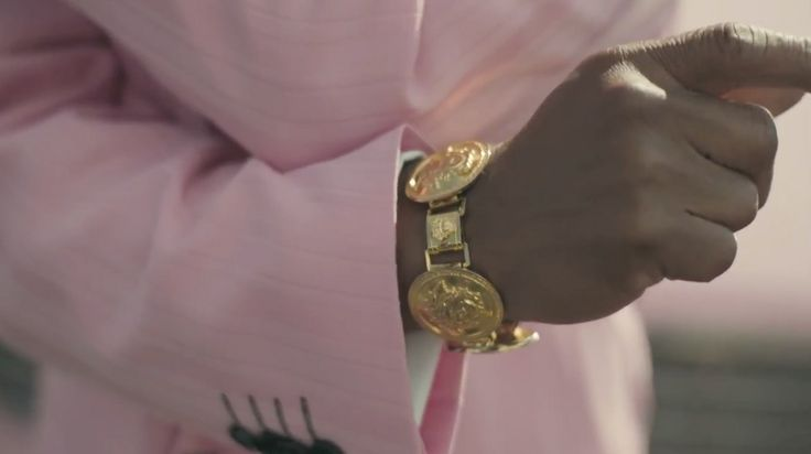 Versace bracelet in WORST BEHAVIOUR by Drake (2013) Official Music Video Product Placement