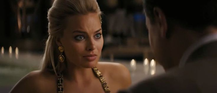 Versace Earrings - The Wolf of Wall Street (2013) Movie Product Placement