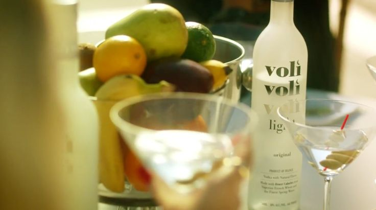 Voli Light vodka in WILD WILD LOVE by Pitbull (2014) Music Video Product Placement