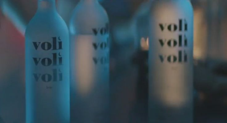 Voli vodka in GIVE ME EVERYTHING by Pitbull (2011) - Official Music Video Product Placement